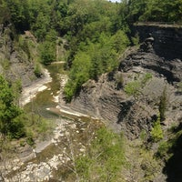 Photo taken at Taughannock Falls State Park by Cathy C. on 5/17/2013