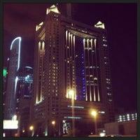 Photo taken at Fairmont Dubai by Onaiza S. on 12/12/2012