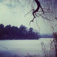 """Photo taken at Parcul """"La Izvor"""" by Dmitri G. on 1/30/2013"""