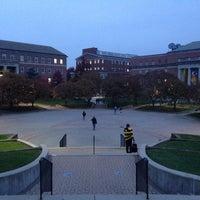 Photo taken at Hornbake Plaza by Ian C. on 10/31/2013