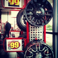 Photo taken at America's Tire Store by Ayan D. on 12/3/2012