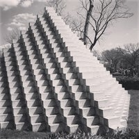 Photo taken at National Gallery of Art - Sculpture Garden by Mike S. on 3/30/2013