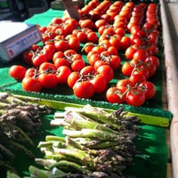 Photo taken at Fulton Street Farmer's Market by Richard A. on 5/17/2013