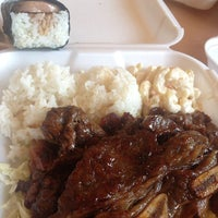 Photo taken at Ohana Hawaiian BBQ by Jenna-Lynn F. on 4/24/2013
