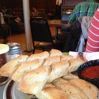 Photo taken at Brick Road Pizza Co. by Kelly L. on 3/23/2013