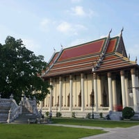 Photo taken at Wat Debsirin by Taweechai P. on 12/16/2012