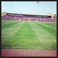 Photo taken at Ed Smith Stadium by Melissa M. on 3/23/2013
