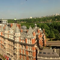 Photo taken at The Park Tower Knightsbridge by Munther S. on 7/6/2013