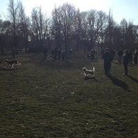 Photo taken at West Park Dog Park by Wes B. on 3/24/2015