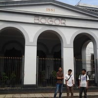 Photo taken at Stasiun Bogor by Hasan B. on 10/7/2012