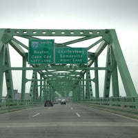 Photo taken at Maurice J. Tobin Memorial Bridge by D. H. on 3/31/2013
