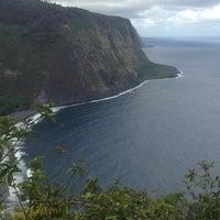 Photo taken at Waipiʻo Valley by Julia P. on 10/19/2012