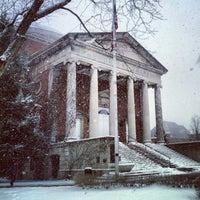 Photo taken at Syracuse University Quad by John H. on 2/4/2013