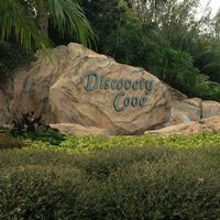 Photo taken at Discovery Cove Parking by Stella C. on 2/21/2013