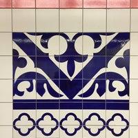 Photo taken at Metrostation Delfshaven by Ellen K. on 11/30/2014