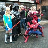 Photo taken at Comic Book Addiction by Catherine K. on 5/3/2014