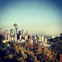 Photo taken at Kerry Park by Heidi G. on 9/8/2012