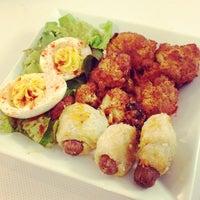 Photo taken at International Village Dining by Gloria C. on 11/1/2013