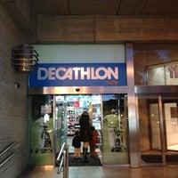 Photo taken at Decathlon by Sergio C. on 11/11/2012