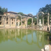 Photo taken at Villa Adriana by Emad A. on 6/25/2013
