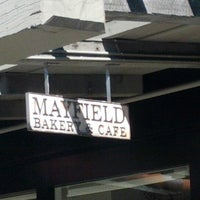 Photo taken at Mayfield Bakery & Cafe by Antony C. on 10/7/2012