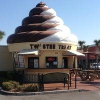 Photo taken at Twistee Treat by Chris M. on 1/24/2013
