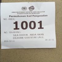 Photo taken at Jabatan Pendaftaran Negara JPN by Dollah H. on 2/11/2016