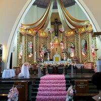 Photo taken at Gereja Katolik Katedral Santa Perawan Maria Dari Gunung Karmel by Evi P. on 5/4/2013