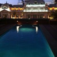 Photo taken at Hotel Mercure Santiago Centro by Joel G. on 12/21/2012