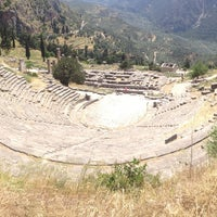 Photo taken at Archaeological Site of Delphi by Nata . on 5/7/2013