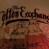 Photo taken at The Cotton Exchange by Gozde M. on 3/23/2013