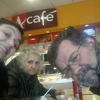 Photo taken at Area di Servizio Conero Ovest by Serena S. on 2/22/2014
