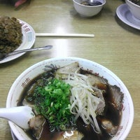 Photo taken at 新福菜館 府立医大前店 by halo t. on 11/3/2012