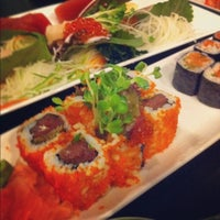 Photo taken at The Sushi Bar 2 by Ming M. on 1/6/2013