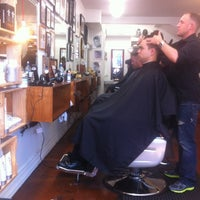 Photo taken at Maloney's Barber Shop by David T. on 10/24/2012