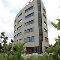 Photo taken at Sant Cugat Hotel & Restaurant by Sergi J. on 3/18/2013