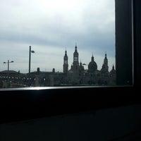 Photo taken at Hotel Ibis Zaragoza Centro by Lakshmy P. on 3/21/2013