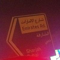 Photo taken at Sheikh Mohammed Bin Zayed Road شارع الشيخ محمد بن زايد by Ahmed A. on 10/11/2012