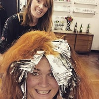 Photo taken at Hair Drezzers on Fire by Kelly O. on 6/12/2015