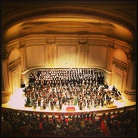 Photo taken at Carnegie Hall by E C. on 2/3/2013