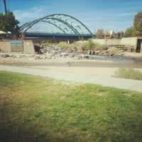 Photo taken at Confluence Park by Erica M. on 9/15/2012
