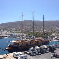 Photo taken at Port of Paros by Vasilis Fernando on 7/23/2013