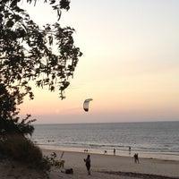 Photo taken at Praia do Chapéu Virado by Arianna S. on 11/17/2012
