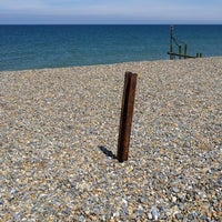 Photo taken at Weybourne Beach by Neil M. on 7/17/2016