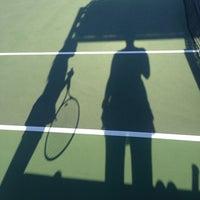 Photo taken at Longview Tennis Courts by Melanie on 4/9/2014
