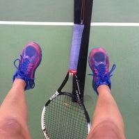 Photo taken at Longview Tennis Courts by Melanie on 6/26/2014