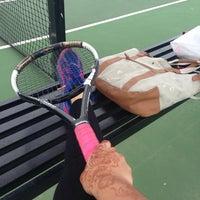 Photo taken at Longview Tennis Courts by Melanie on 2/26/2014