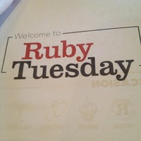 Photo taken at Ruby Tuesday by Stacey K. on 2/17/2013