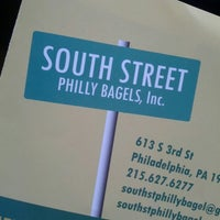 Photo taken at South Street Philly Bagels by Amber G. on 9/29/2014