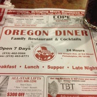 Photo taken at Oregon Diner by Daniel V. on 11/3/2012